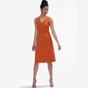 MM.Lafleur The Annie Dress Orange A-Line Business